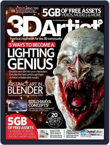 3D Artist (Digital) October 6th, 2015 Issue Cover