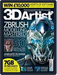 3D Artist (Digital) Subscription September 1st, 2015 Issue