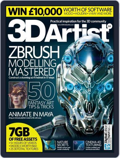 3D Artist (Digital) September 1st, 2015 Issue Cover