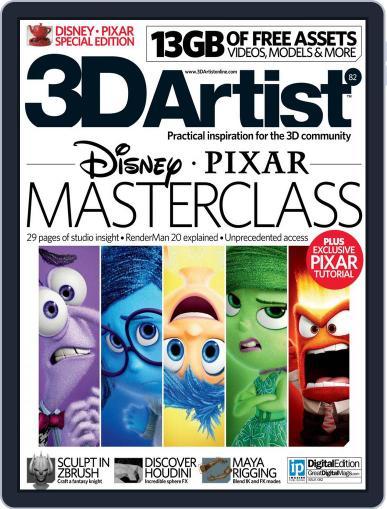 3D Artist June 16th, 2015 Digital Back Issue Cover