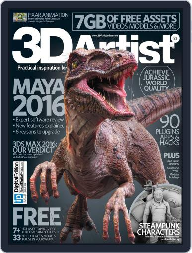 3D Artist May 19th, 2015 Digital Back Issue Cover