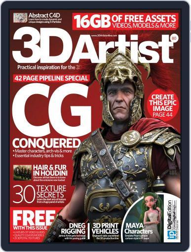 3D Artist (Digital) April 21st, 2015 Issue Cover