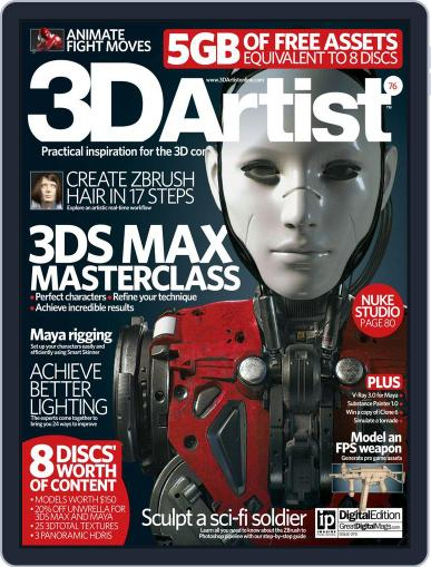3D Artist (Digital) January 1st, 2015 Issue Cover
