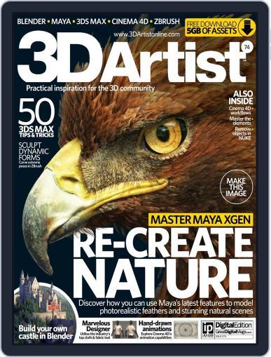 3D Artist (Digital) November 5th, 2014 Issue Cover