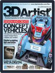 3D Artist (Digital) Subscription July 15th, 2014 Issue
