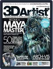 3D Artist (Digital) Subscription March 26th, 2014 Issue