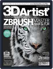 3D Artist (Digital) Subscription October 8th, 2013 Issue