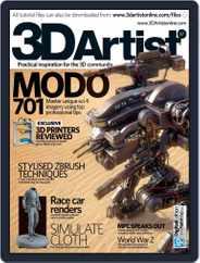 3D Artist (Digital) Subscription July 16th, 2013 Issue