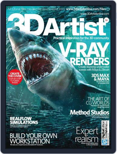 3D Artist (Digital) June 18th, 2013 Issue Cover