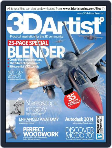 3D Artist (Digital) May 21st, 2013 Issue Cover