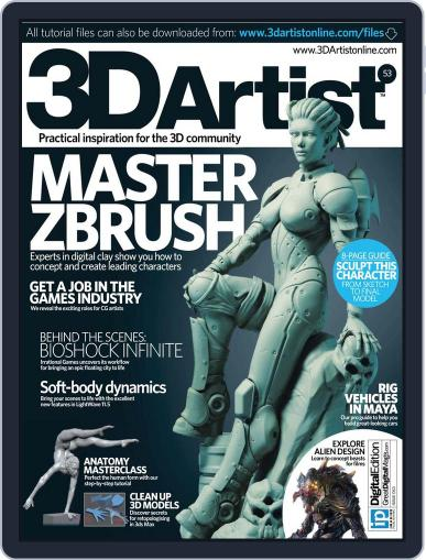 3D Artist (Digital) March 27th, 2013 Issue Cover