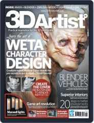 3D Artist (Digital) Subscription December 4th, 2012 Issue