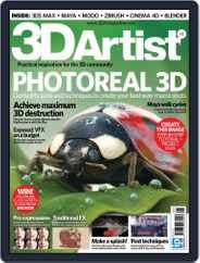 3D Artist (Digital) Subscription November 7th, 2012 Issue
