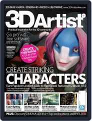 3D Artist (Digital) Subscription October 9th, 2012 Issue