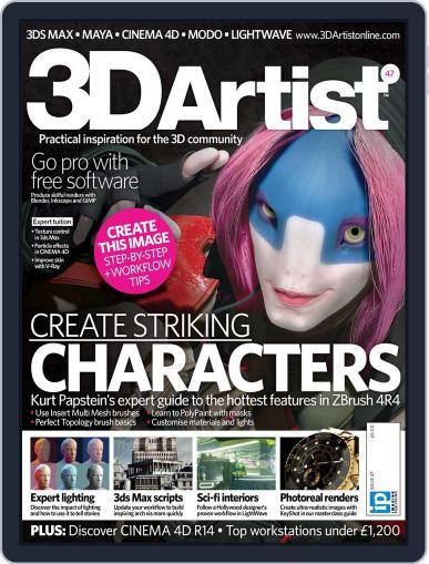 3D Artist (Digital) October 9th, 2012 Issue Cover