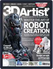 3D Artist (Digital) Subscription September 11th, 2012 Issue