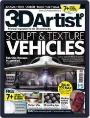 3D Artist (Digital) Subscription August 16th, 2012 Issue