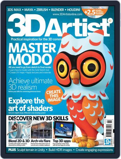 3D Artist (Digital) May 22nd, 2012 Issue Cover