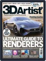 3D Artist (Digital) Subscription April 24th, 2012 Issue