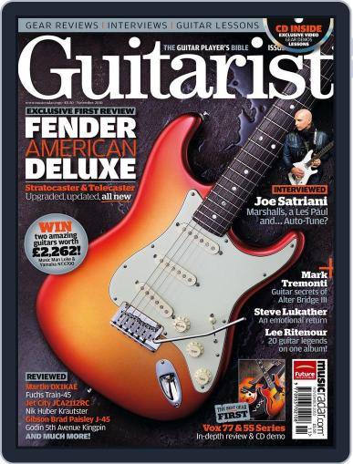Guitarist October 26th, 2010 Digital Back Issue Cover
