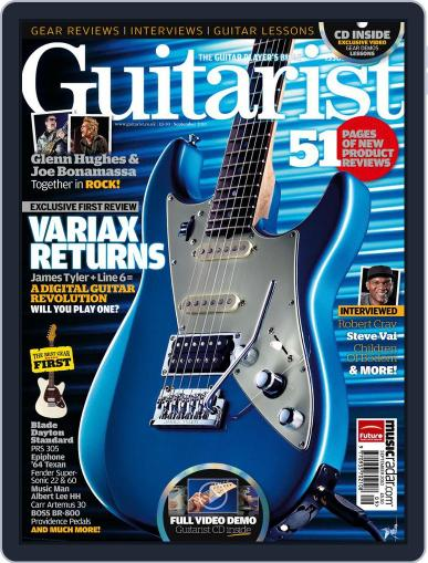 Guitarist August 31st, 2010 Digital Back Issue Cover