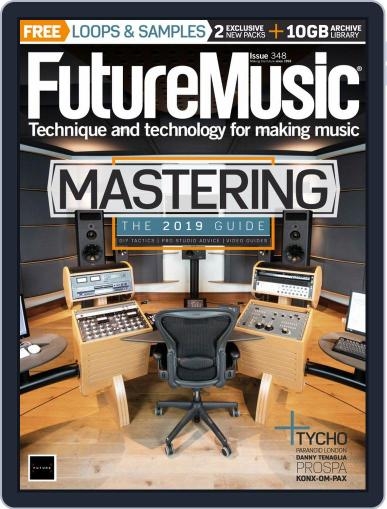 Future Music October 1st, 2019 Digital Back Issue Cover