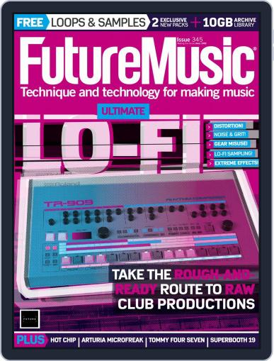 Future Music July 1st, 2019 Digital Back Issue Cover