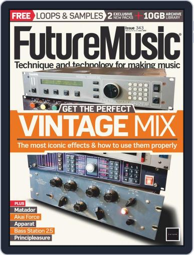 Future Music May 1st, 2019 Digital Back Issue Cover