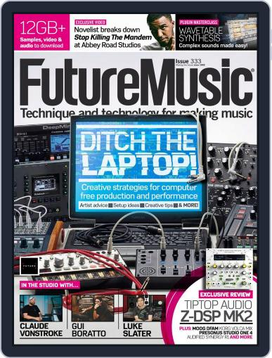 Future Music August 1st, 2018 Digital Back Issue Cover