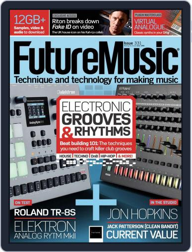 Future Music June 1st, 2018 Digital Back Issue Cover