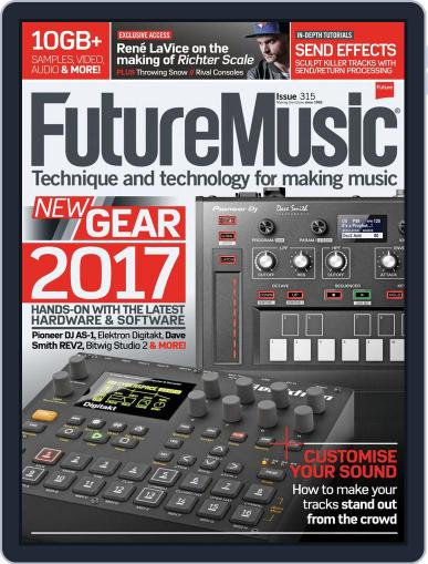 Future Music March 1st, 2017 Digital Back Issue Cover