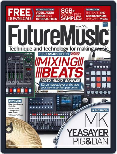 Future Music April 7th, 2016 Digital Back Issue Cover