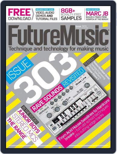 Future Music March 10th, 2016 Digital Back Issue Cover