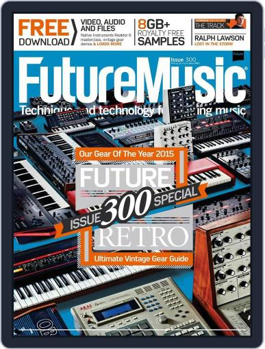 Future Music December 16th, 2015 Digital Back Issue Cover