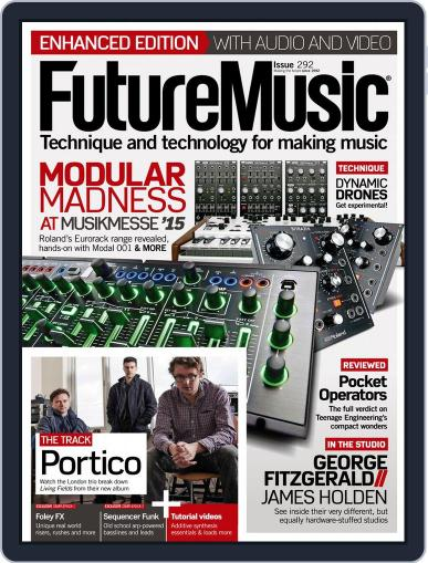 Future Music May 6th, 2015 Digital Back Issue Cover