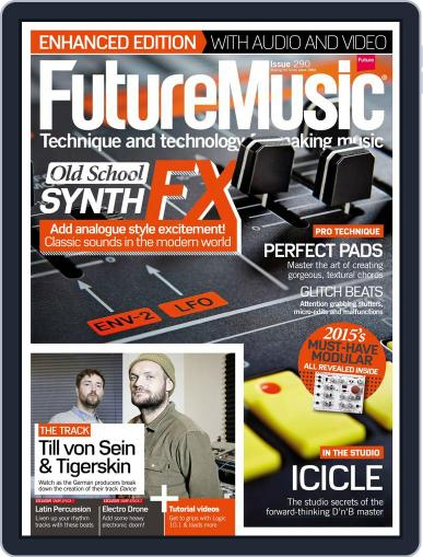 Future Music March 11th, 2015 Digital Back Issue Cover