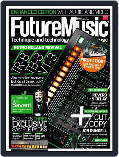 Future Music March 12th, 2014 Digital Back Issue Cover