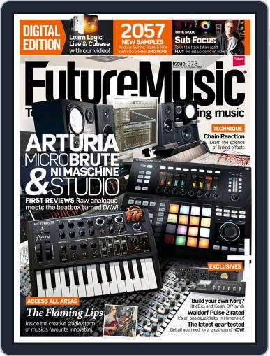 Future Music November 20th, 2013 Digital Back Issue Cover