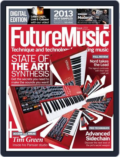 Future Music October 23rd, 2013 Digital Back Issue Cover