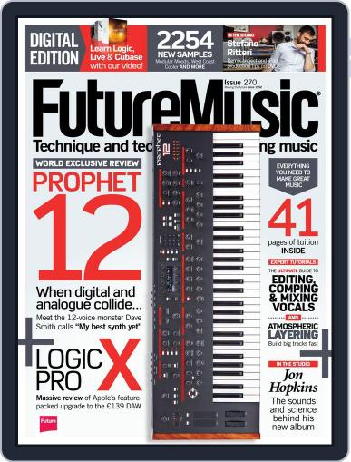 Future Music August 28th, 2013 Digital Back Issue Cover