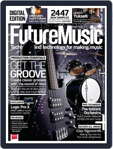 Future Music July 31st, 2013 Digital Back Issue Cover
