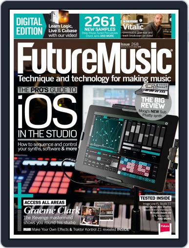 Future Music July 3rd, 2013 Digital Back Issue Cover