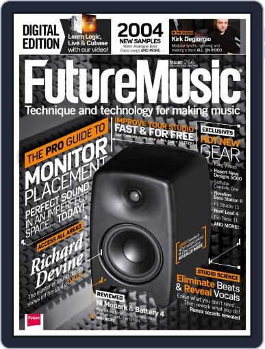 Future Music May 8th, 2013 Digital Back Issue Cover