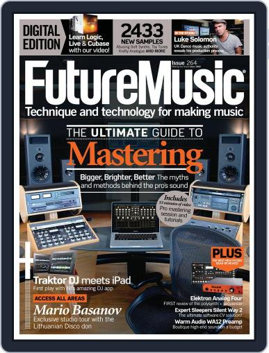 Future Music March 13th, 2013 Digital Back Issue Cover