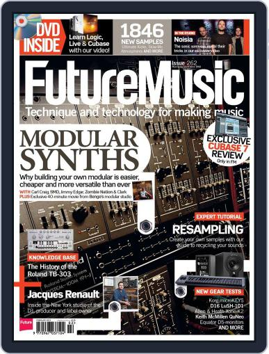 Future Music January 16th, 2013 Digital Back Issue Cover