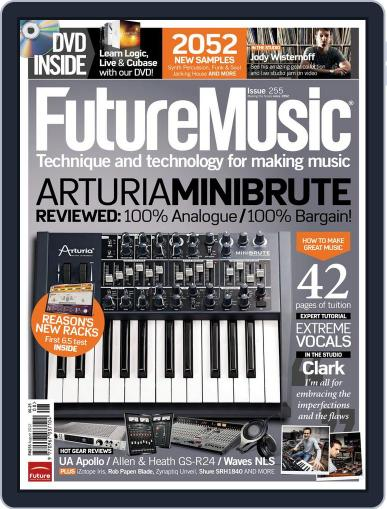 Future Music August 4th, 2012 Digital Back Issue Cover