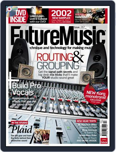 Future Music December 5th, 2011 Digital Back Issue Cover