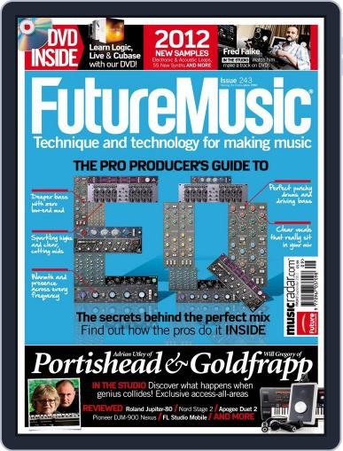Future Music August 3rd, 2011 Digital Back Issue Cover