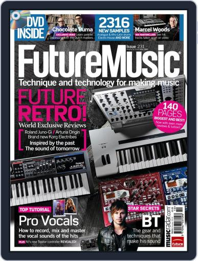 Future Music September 2nd, 2010 Digital Back Issue Cover
