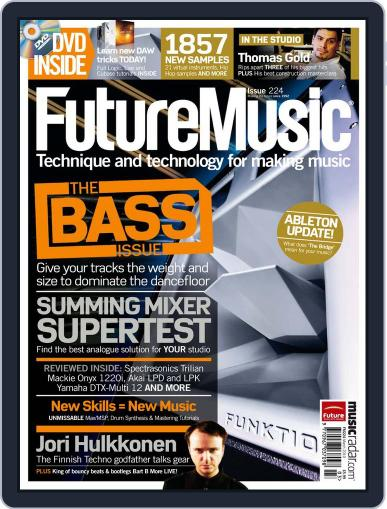 Future Music February 22nd, 2010 Digital Back Issue Cover